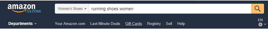 Amazon Search term